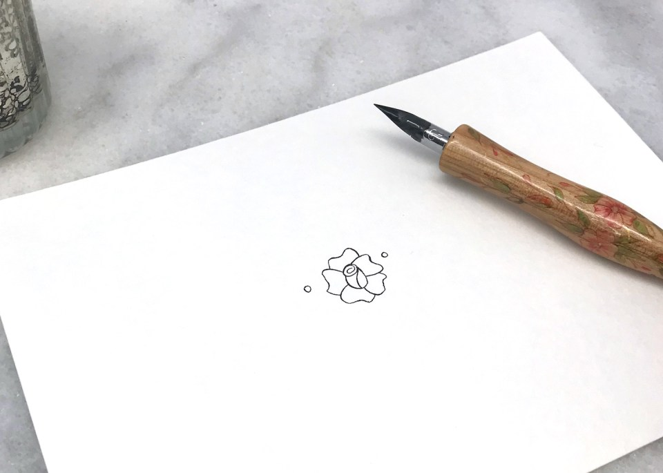 Drawing Flowers (by Jodean Cooper) | The Postman's Knock