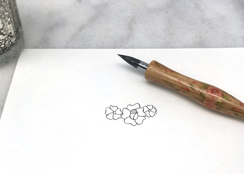 Drawing Flowers (by Jodean Cooper)