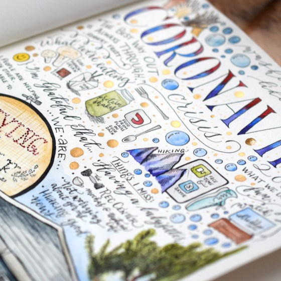 The eBook will inspire you to start a sketchbook (or continue to work in your current sketchbook)!