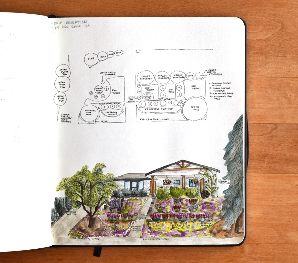 New landscaping plans