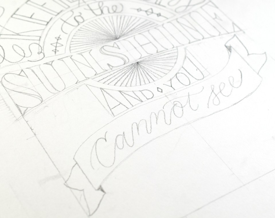 Making Hand Lettering