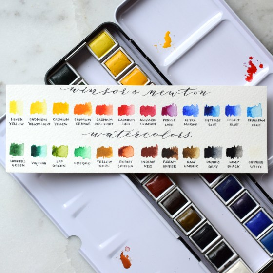 This palette gives you a wide range of fabulous colors!