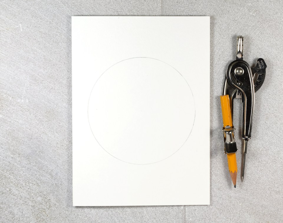 Pencil Draft of Floral Illustration