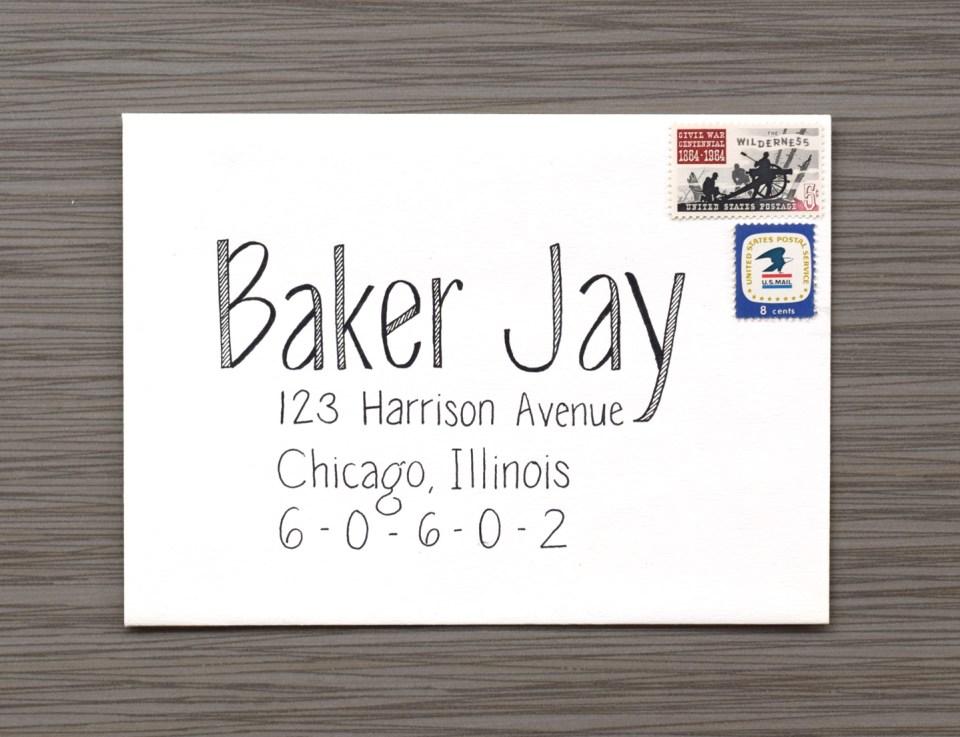 Baker Jay Envelope