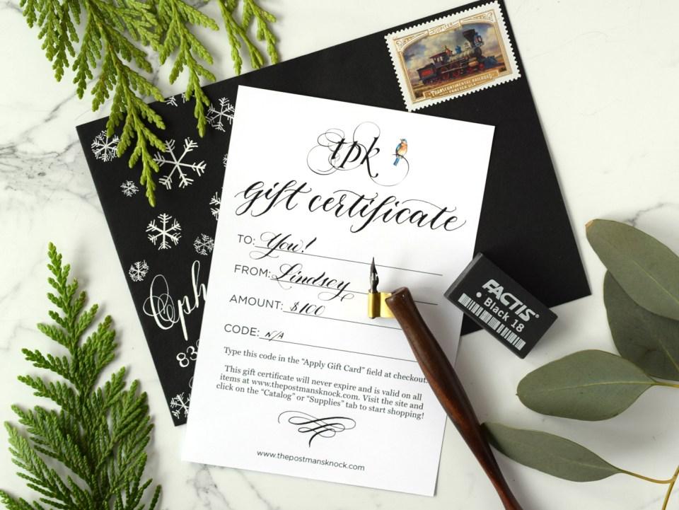 TPK Gift Certificate