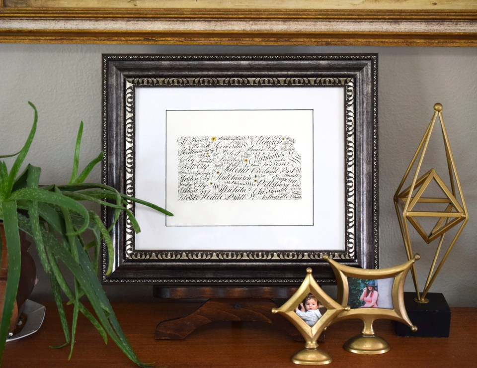 State Calligraphy Art