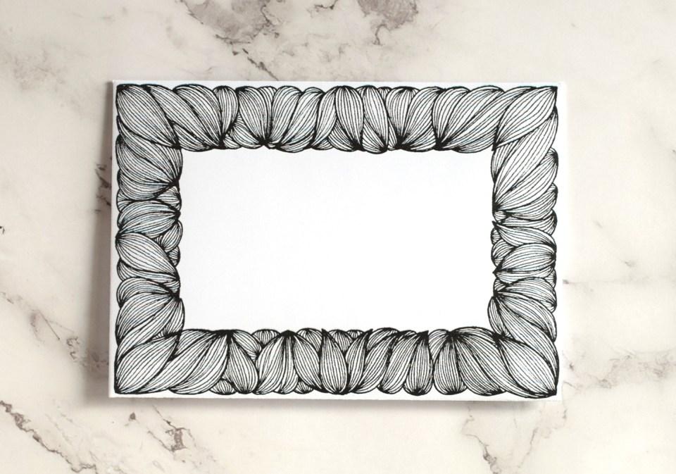 Hand-Drawn Frame Mail Art
