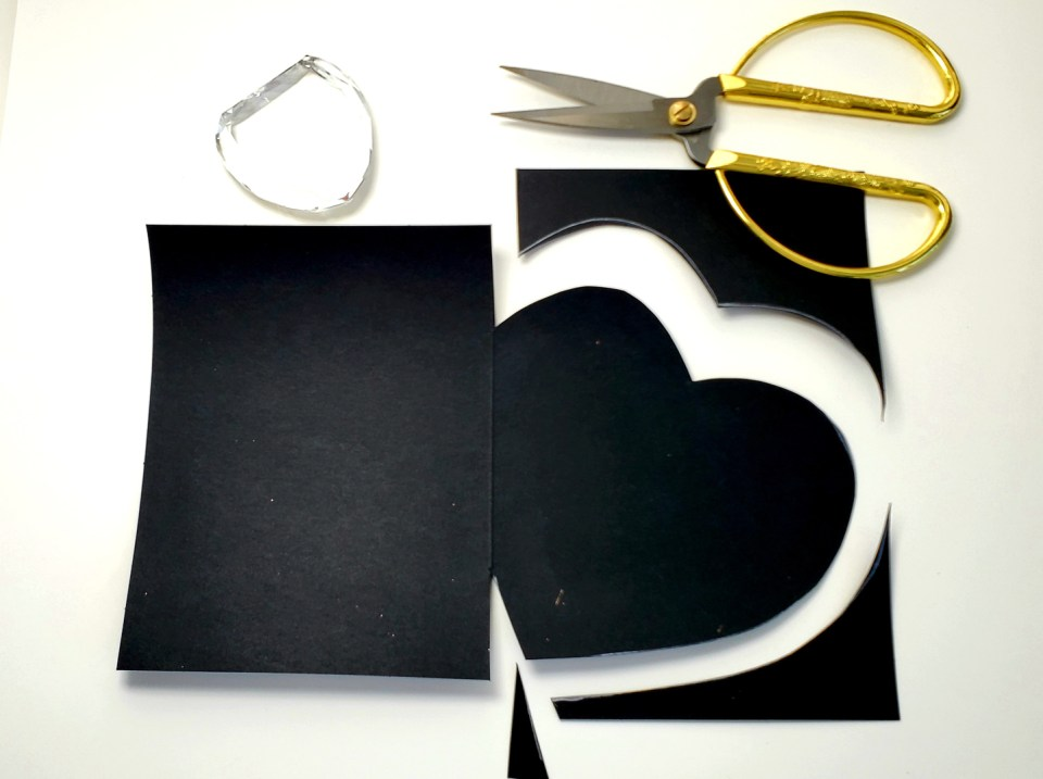 Cutting Out the Traced Heart