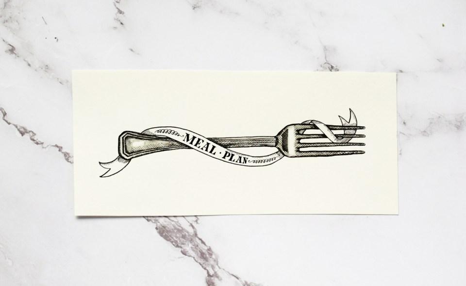 Fork Illustration