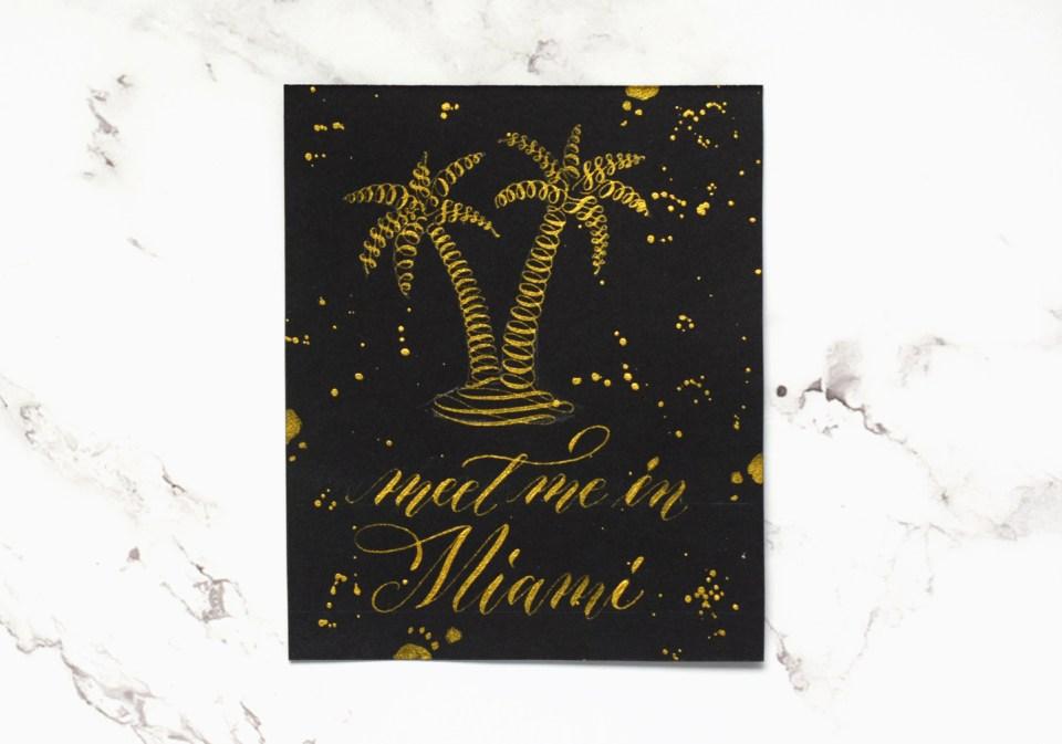 Miami Calligraphy