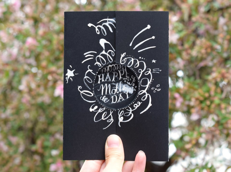 Hernán's Mother's Day Card
