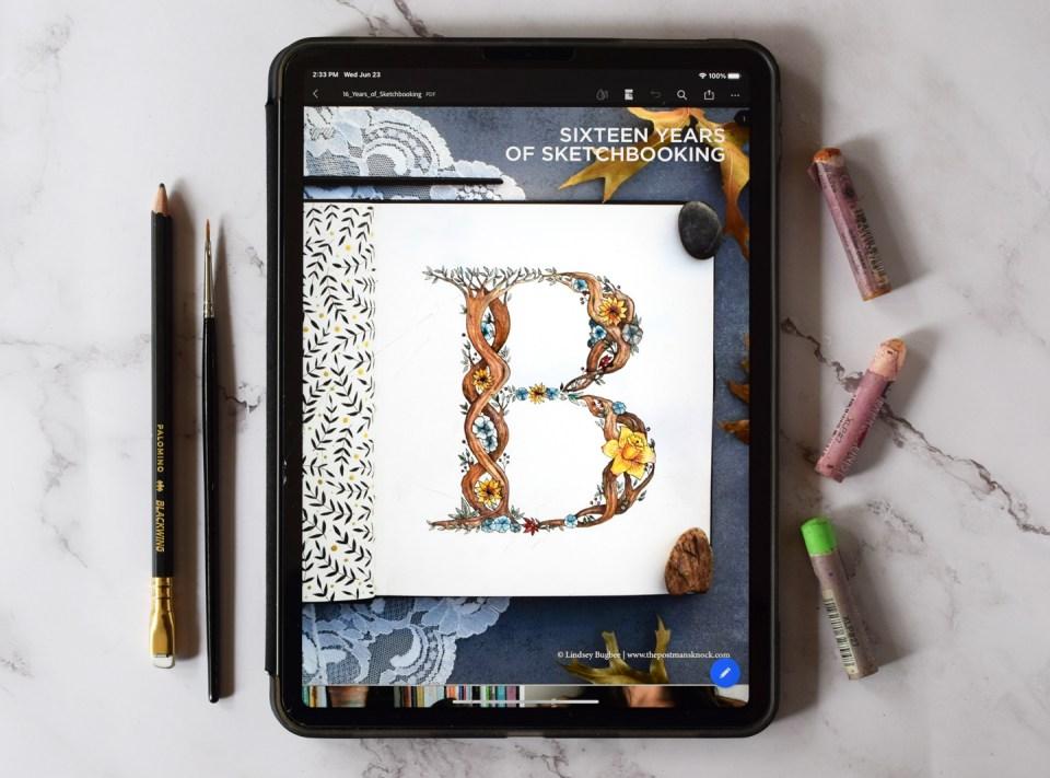 16 Years of Sketchbooking: an eBook