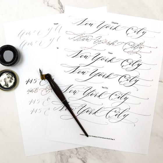 I'll show you how to write all the words on the invitation, then you'll trace over the words and try writing them on your own!