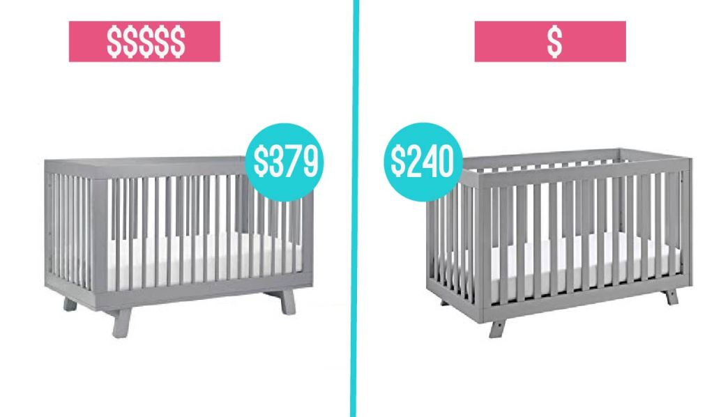baby product crib comparison