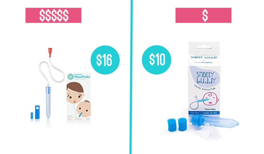 baby product comparison snot suckers