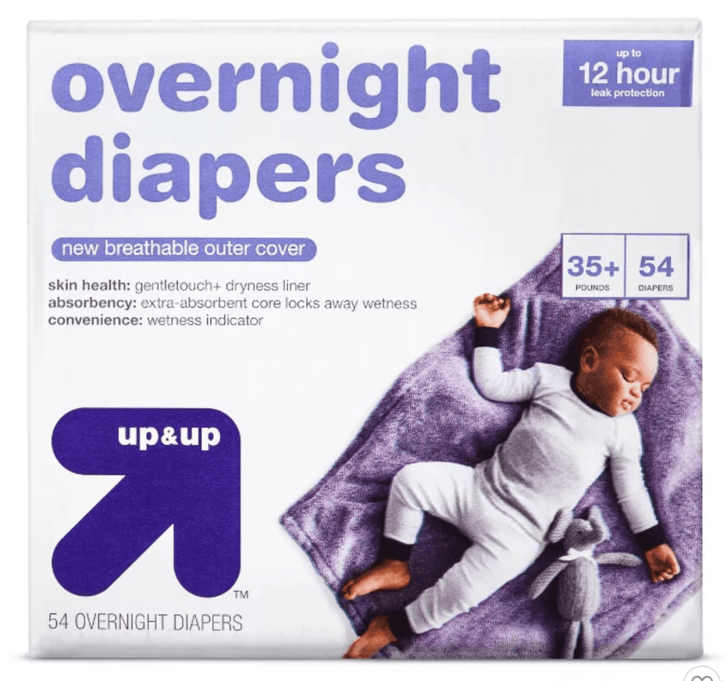 Up and Up - Best Overnight Diaper