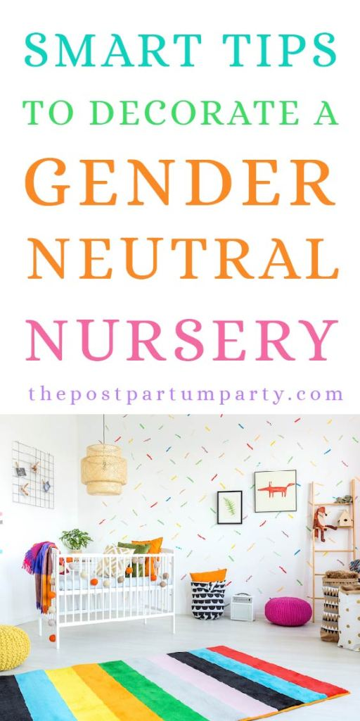 5 Tips for Decorating A Gender Neutral Nursery - Want a space that will work for a baby boy or baby girl? Check out these tips for creating a playful space in your baby's room that is gender neutral. You can use gray and neutral colors or playful and fun themes!