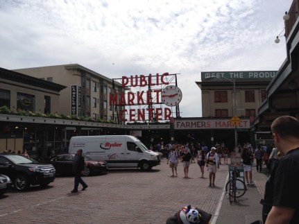 Oh Pike Market.. what a place for all of the senses..