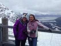 Top of Alyeska ski resort