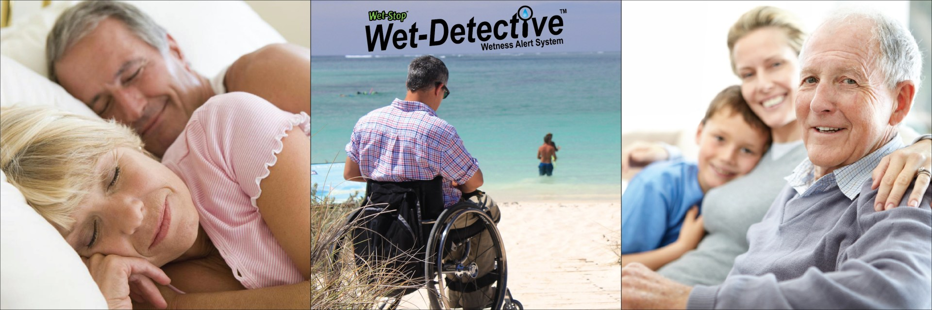 Wet-Detective Pad Alarm System for urinary incontinence helps adults, special needs people, and caregivers with alerts.