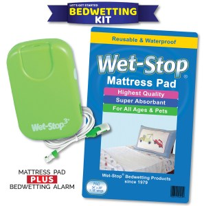 Wet-Stop Kit with alarm and mattress pad