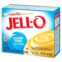 Jell-O Sugar-Free Vanilla Instant Pudding Mix 1 Ounce Box
