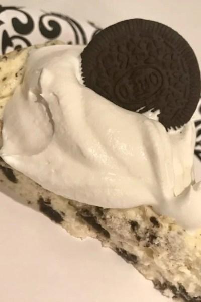 White Chocolate Oreo Cheesecake