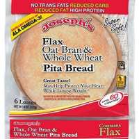 Joseph's Flax Oat Bran and Whole Wheat Pita Bread