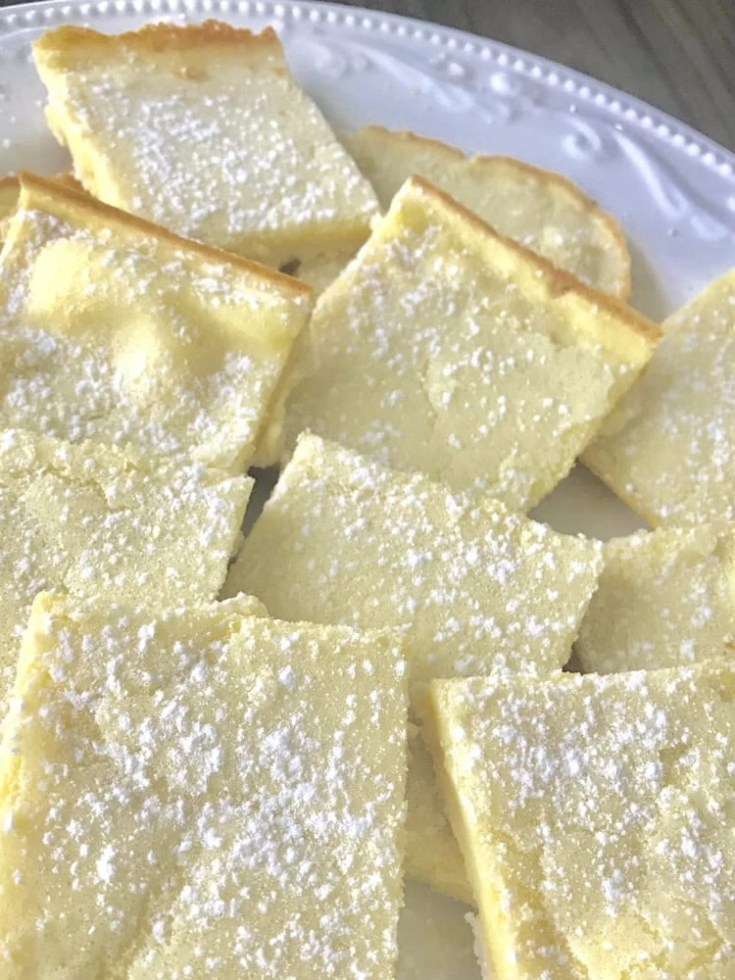 Low-Point Lemon Bars