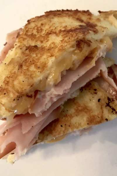 The Lighter Monte Cristo Sandwich