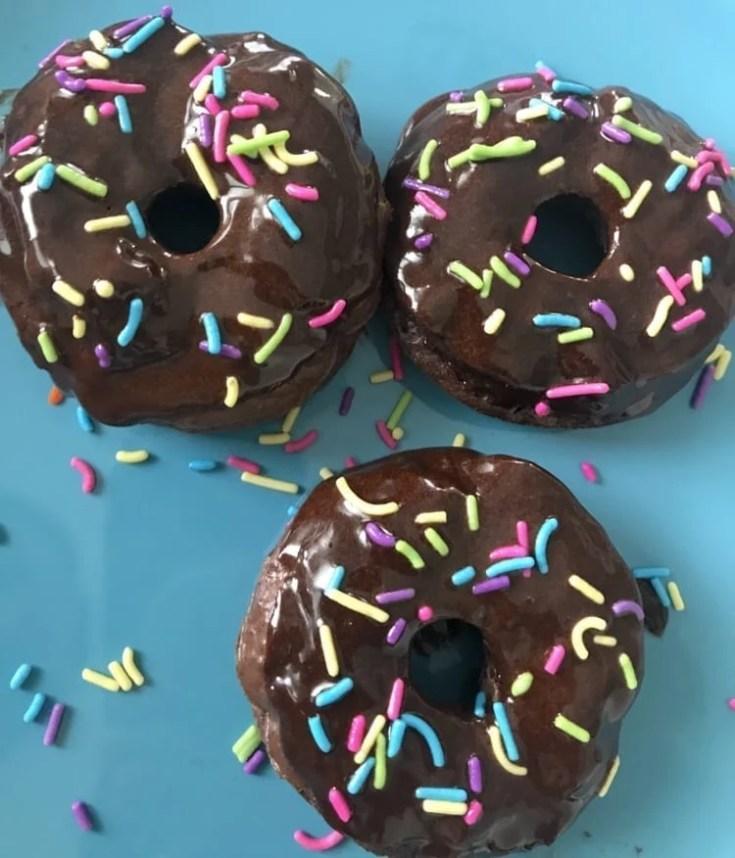 Mini Brownie Batter Donuts