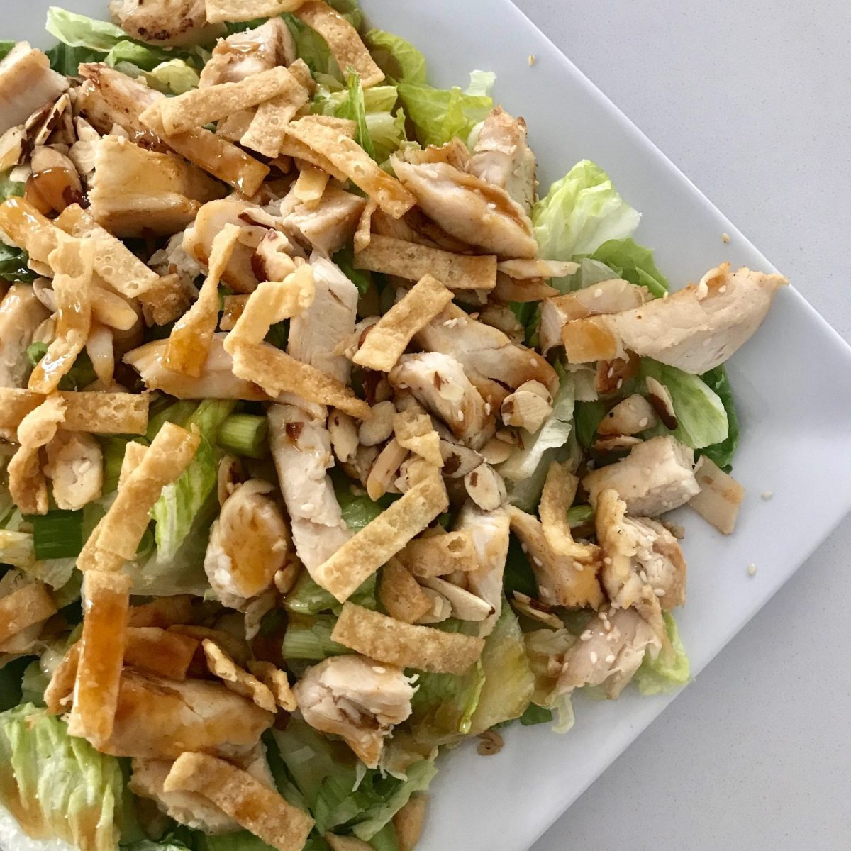 Copycat Panera Asian Chicken Salad Pound Dropper