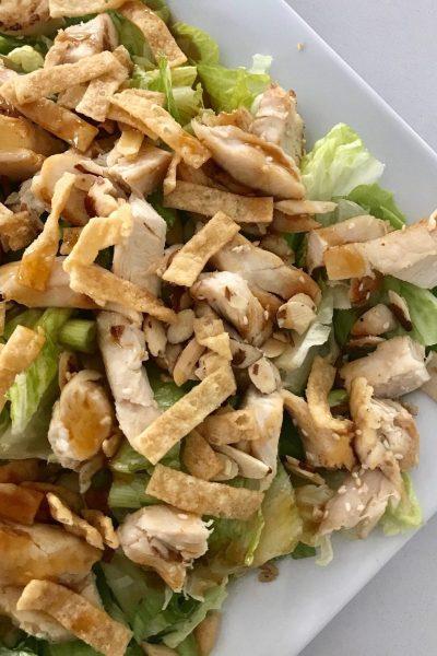 Copycat Panera Asian Chicken Salad