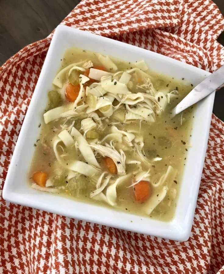 Crockpot Classic Chicken Noodle Soup
