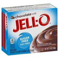 Jell-O Sugar-Free Chocolate Instant Pudding Mix 1.4 Ounce Box (Pack of 6)