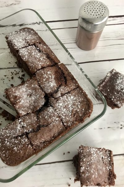 Skinny Mint Chocolate Brownies