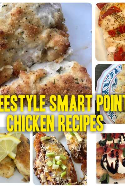8 WW Freestyle Smart Points Chicken Recipes