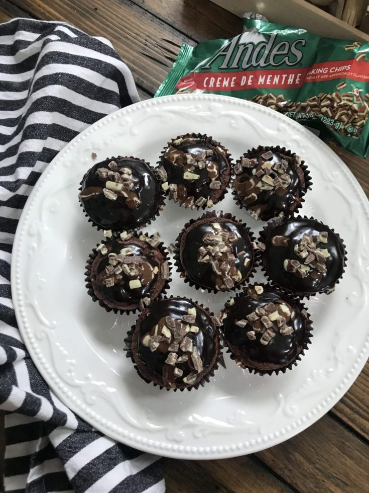 Lightened Andes Chocolate Cupcakes- 3 Freestyle Smart Points