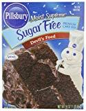 sugar-free Pillsbury Devil's Food Cake mix