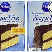 Pillsbury sugar-free yellow cake mix