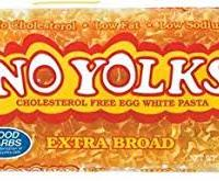 No Yolks Egg White Pasta Extra Broad
