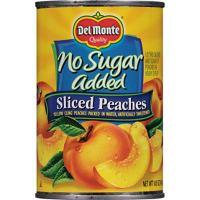 No Sugar Added Peaches