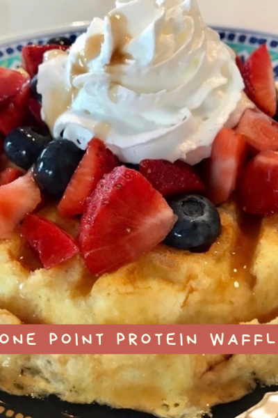One Point Protein Waffle