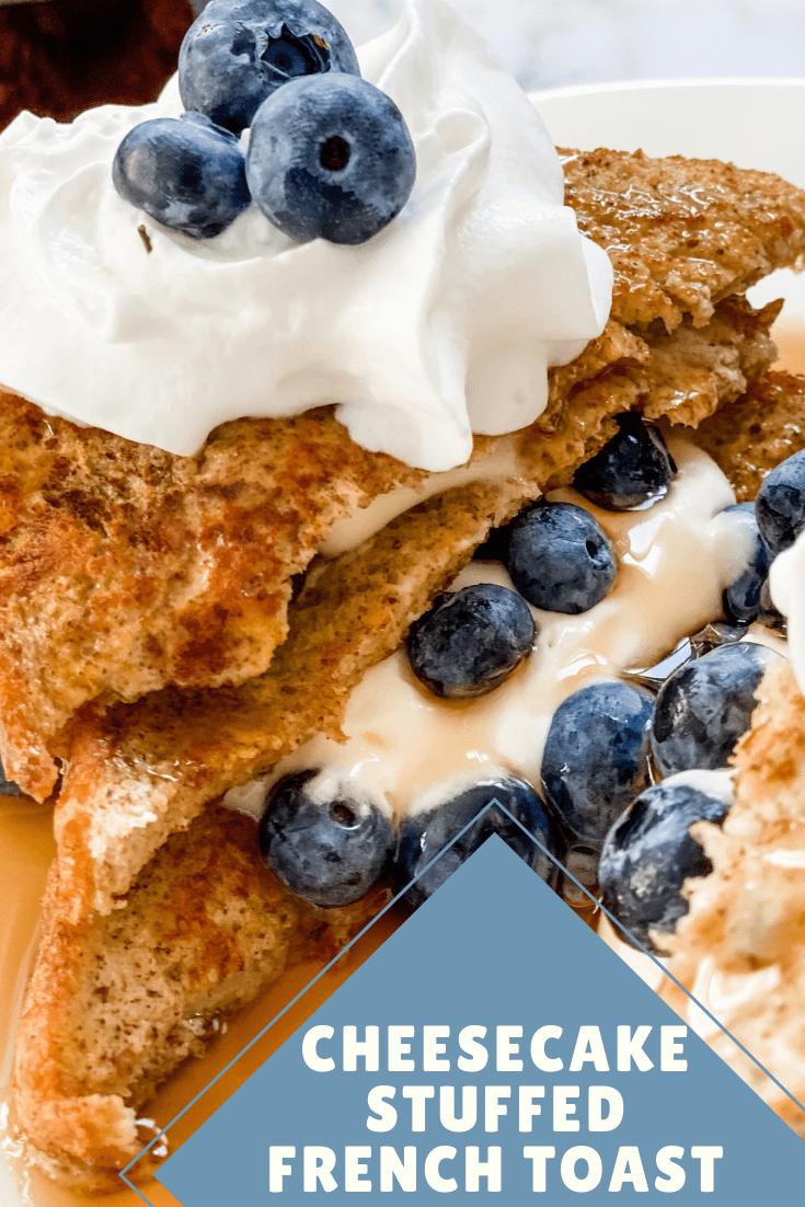 Cheesecake Stuffed French Toast via @pounddropper