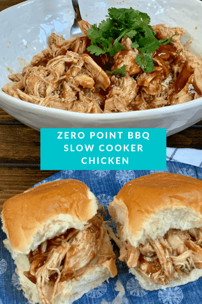 Zero Point BBQ Slow Cooker Chicken