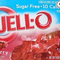 Sugar Free Cherry Jell-o