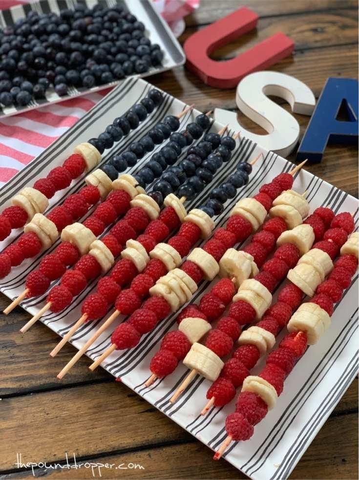 Zero Point Patriotic Fruit Kabobs