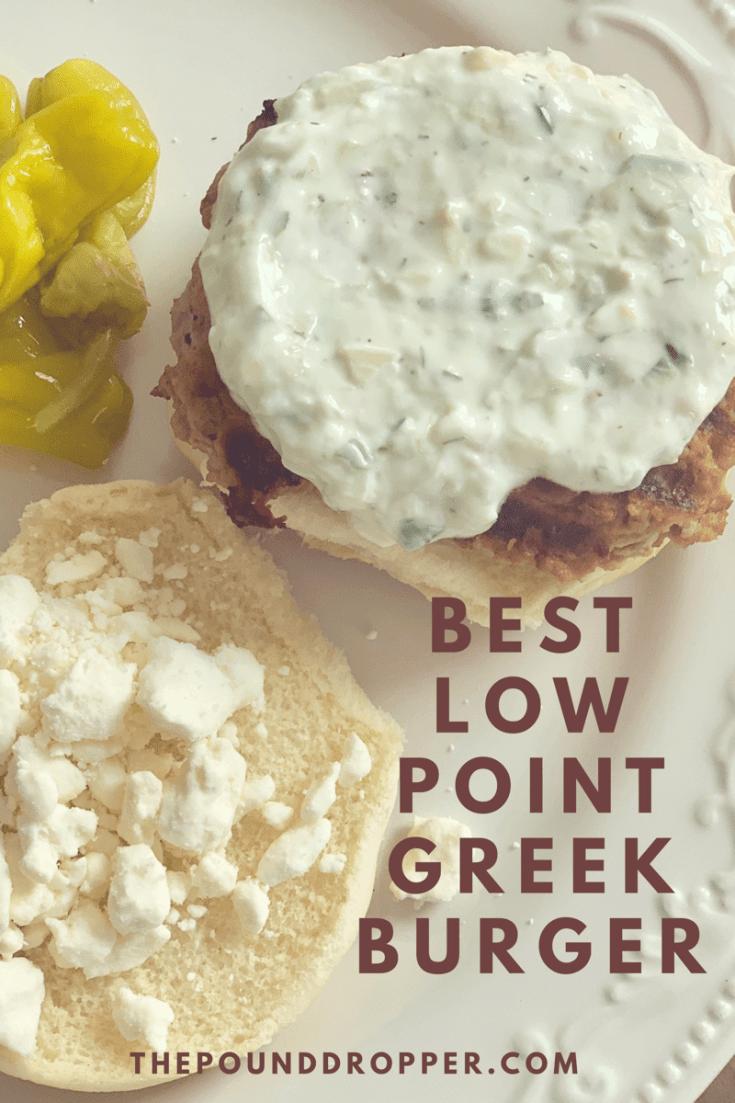 Best Low Point Greek Turkey Burgers