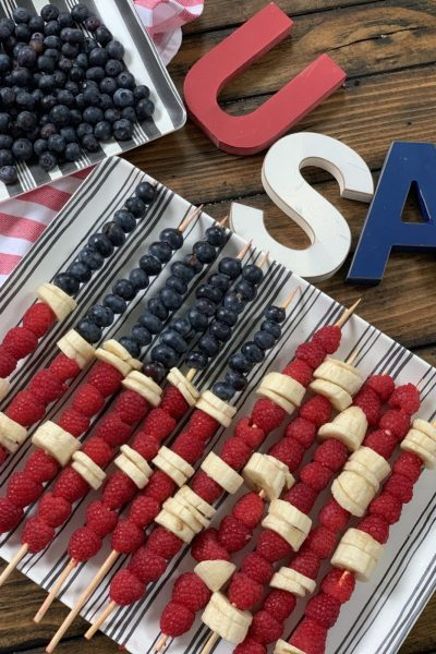 Zero Point Patriotic Fruit Kabobs