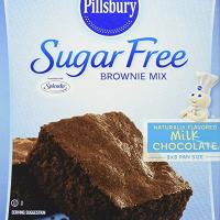 sugar free Pillsbury Sugar Free Milk Chocolate Brownie Mix